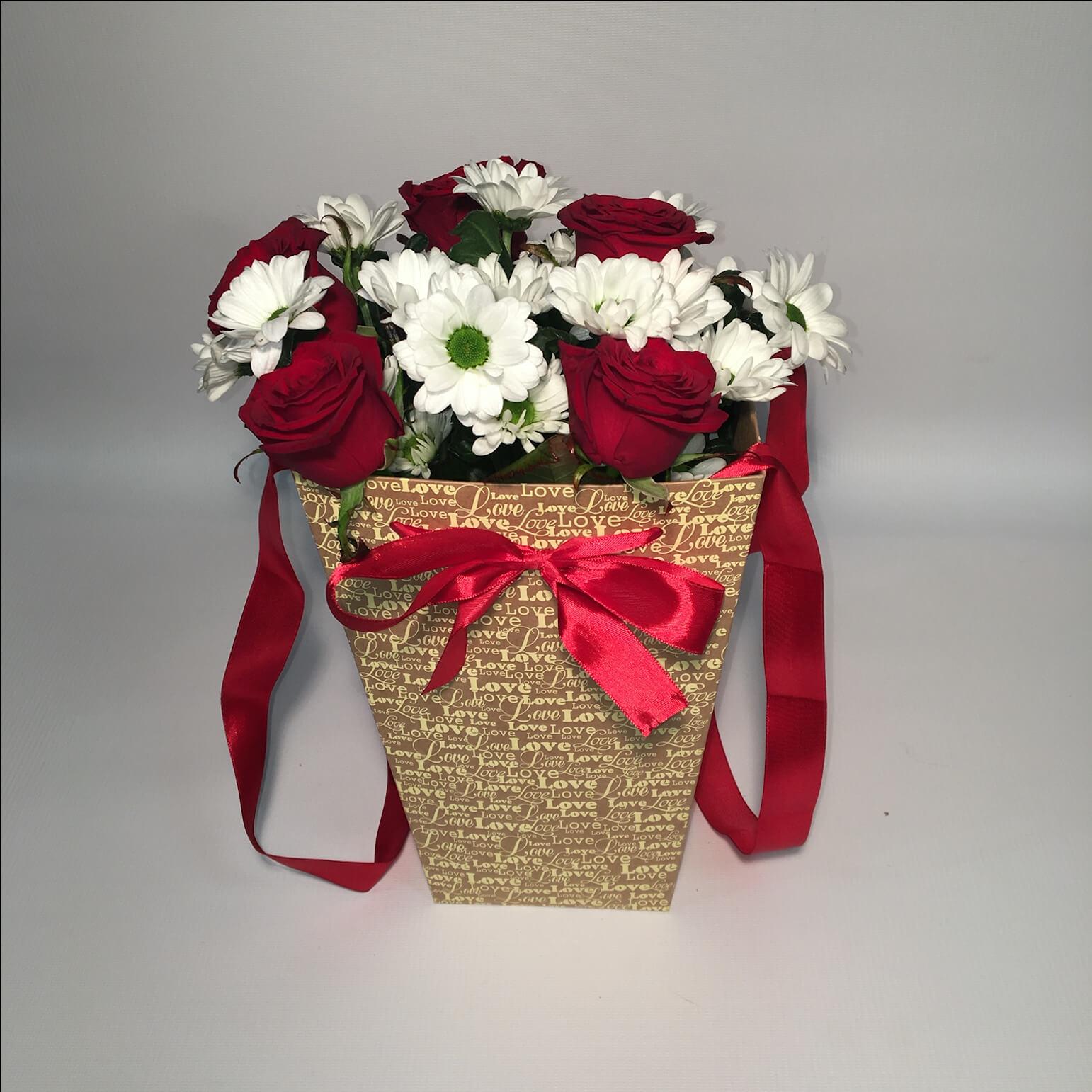 Пакеты для цветов фото